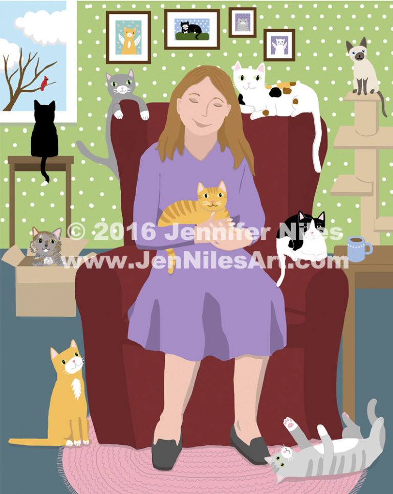 cat lady WACOM smaller WM FB